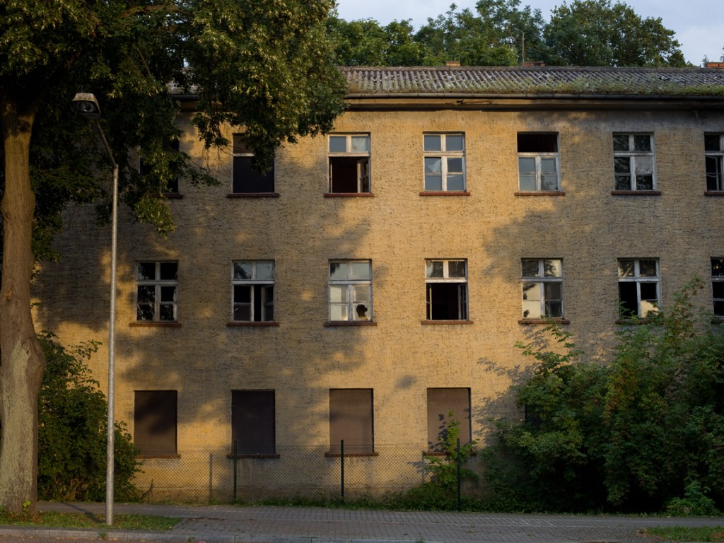 Abandoned buildings in the Polish - German border (German side). Some of these buildings were used until the 90´s by the Soviet Army, which didn't retire from the former GDR until 1994. After German reunification, this border became more important than before as Poland was not so close geopolitically to Germany as before. And it was this way until Poland entered the EU and later the Schengen area and all the borders where eliminated.